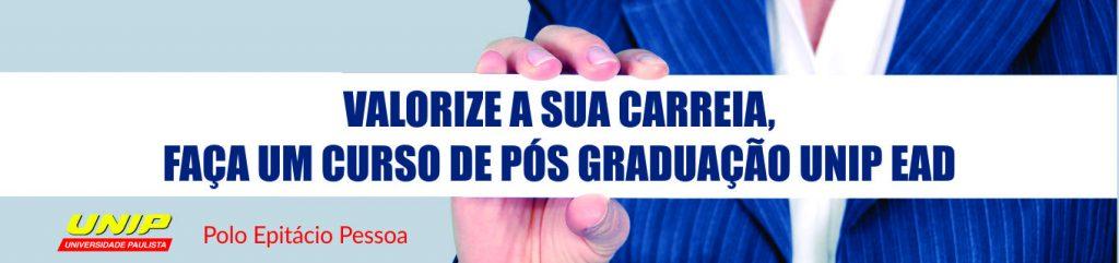 Pos graduação UNIP EAD, Polo Epitácio Pessoa.